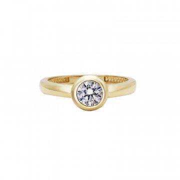 Prsten se syntetickým kamenem 226-573-021B
