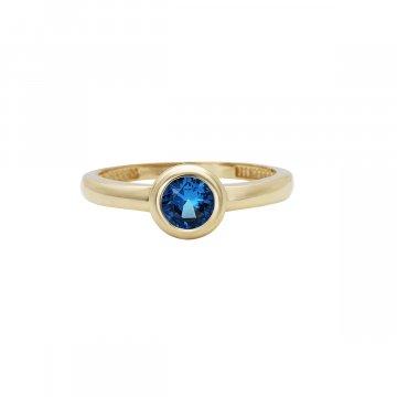 Prsten se syntetickým kamenem 226-573-021M