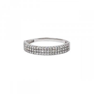 Prsten se syntetickými kameny 326-573-0646