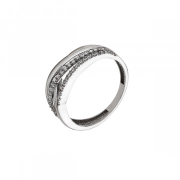 Prsten se syntetickými kameny 326-573-0847