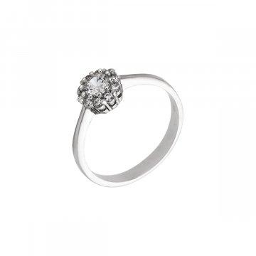 Prsten se syntetickými kameny 326-573-0852