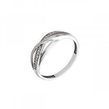 Prsten se syntetickými kameny 326-573-2301