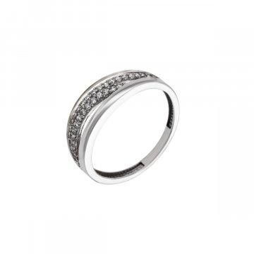 Prsten se syntetickými kameny 326-573-2302