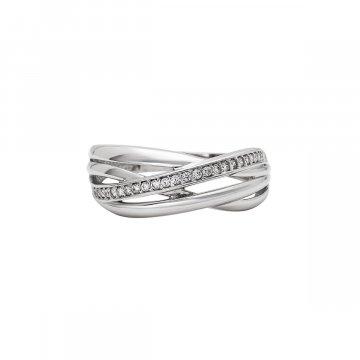 Prsten se syntetickými kameny 326-573-2356