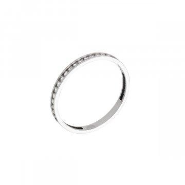 Prsten se syntetickými kameny 326-573-2458