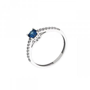 Prsten se syntetickými kameny 326-573-3475