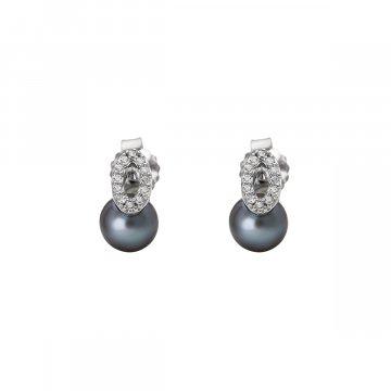 Náušnice se syntetickou perlou 135-393-014512-0000
