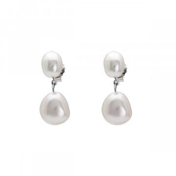 Náušnice se syntetickou perlou 135-393-016506-0000