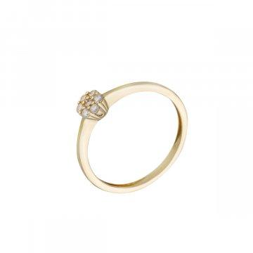 Prsten se syntetickými kameny 226-588-5442