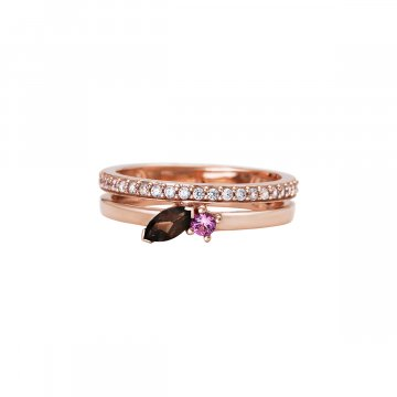 Prsten se syntetickými kameny 626-393-6886
