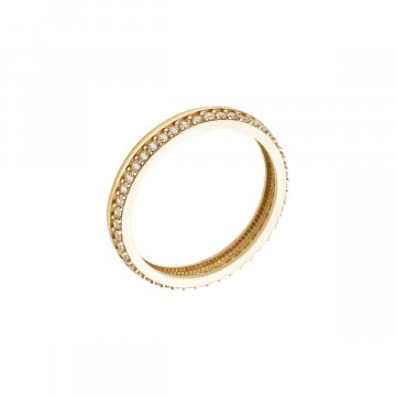Prsten se syntetickými kameny 226-185-1125