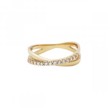 Prsten se syntetickými kameny 226-185-1332