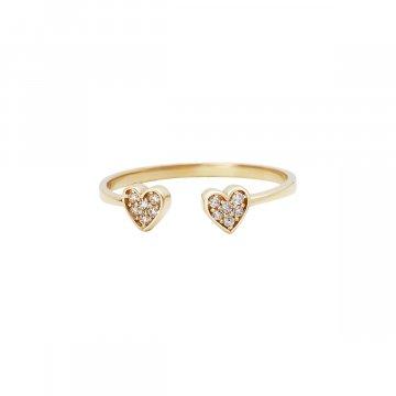 Prsten se syntetickými kameny 226-185-2300