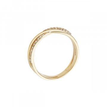 Prsten se syntetickými kameny 226-185-2386