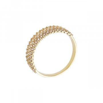 Prsten se syntetickými kameny 226-185-2564
