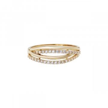 Prsten se syntetickými kameny 226-185-5073