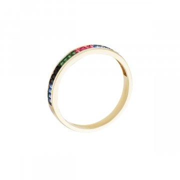 Prsten se syntetickými kameny 226-185-X722