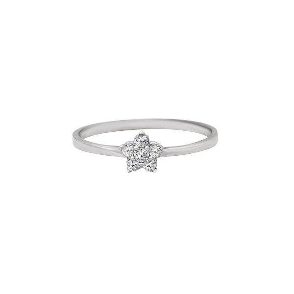 Levně Prsten se syntetickými kameny 326-185-2555 52-0.80g