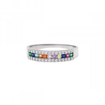 Prsten se syntetickými kameny 326-185-X500