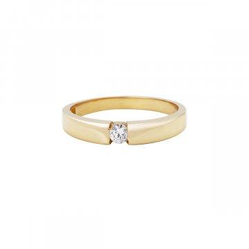 Prsten soliter se syntetickým kamenem 223-185-1311