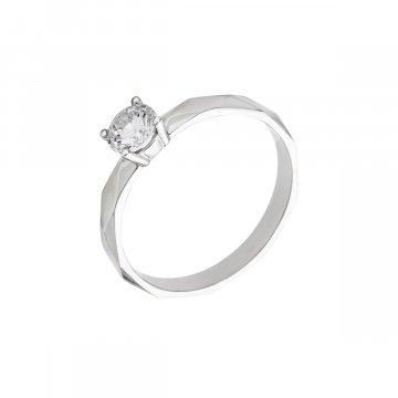 Prsten soliter se syntetickým kamenem 323-185-2118