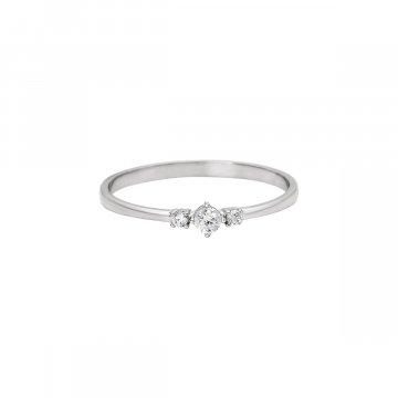 Prsten soliter se syntetickým kamenem 323-185-2576