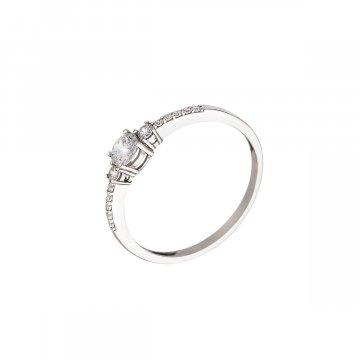 Prsten soliter se syntetickým kamenem 323-588-0226