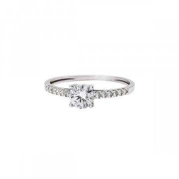 Prsten soliter se syntetickým kamenem 323-588-0228