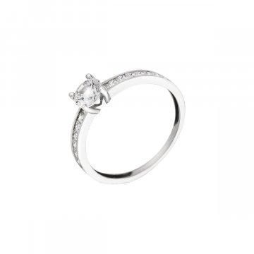 Prsten soliter se syntetickým kamenem 323-588-0232