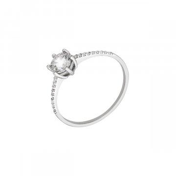 Prsten soliter se syntetickým kamenem 323-588-0245
