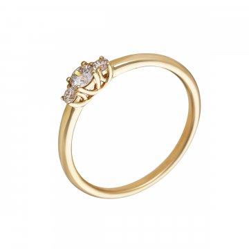 Prsten s brilianty 224-300-6570
