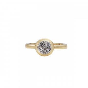Prsten s brilianty 224-433-0996