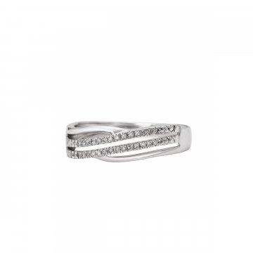 Prsten s brilianty 324-433-0607