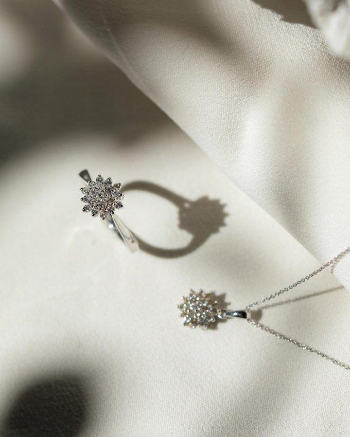 K výjimečné příležitosti patří výjimečný šperk. 💍 Ukažte vašim blízkým, že vám na nich záleží. ❤️🙏🏼 Kvalitní šperk je bude těšit roky... ❣️ #klenotyaurum #sperkynejsouhrich #jewelry #gift #sperkjakodarek #sperk #necklace #ring #diamonds #whitegold