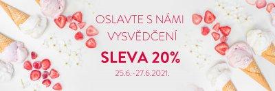 VYSVĚDČENÍ! 20% SLEVA