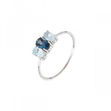 Prsten s přírodními kameny 324-308-6565