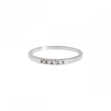 Prsten se syntetickými kameny 326-308-4928