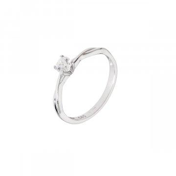 Prsten soliter se syntetickým kamenem 323-308-6544