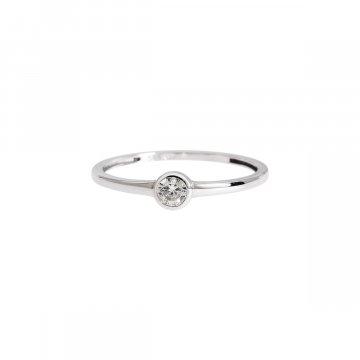 Prsten soliter se syntetickým kamenem 323-308-6614