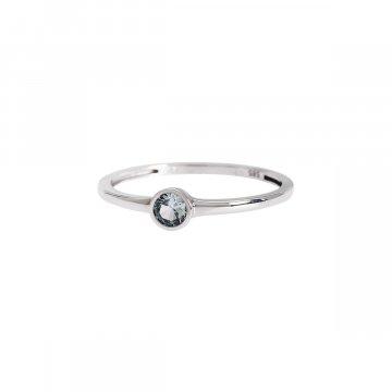 Prsten soliter se syntetickým kamenem 323-308-6616