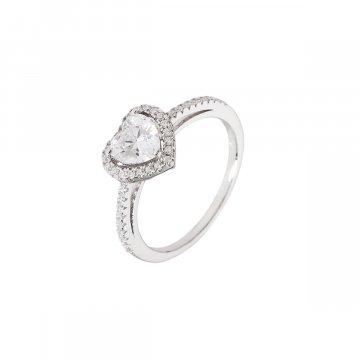 Prsten se syntetickými kameny 126-258-0169