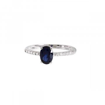 Prsten se syntetickými kameny 326-115-3718