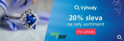 Podzimní výhoda pro zákazníky O2 a pro klienty Air Bank v Klenotech Aurum.