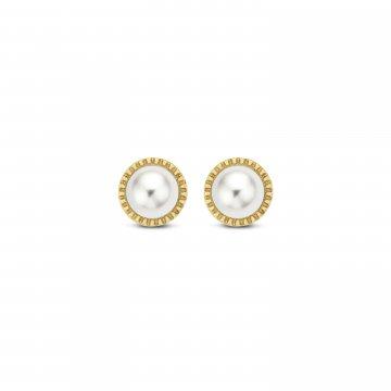 Náušnice s perlou 235-236-000015